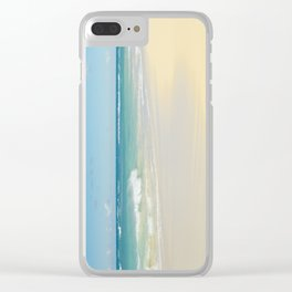 Beach Love the Secret Heart of Wonder Clear iPhone Case