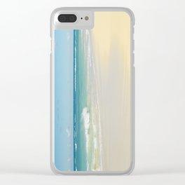Beach Love the Secret Heart of Wonder Clear iPhone Case
