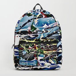 Woman swimming Backpack