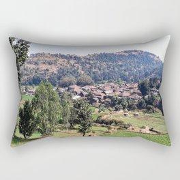 Rural Countryside Rectangular Pillow