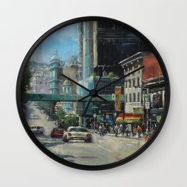 Where Can You Find Dragons, Coppolas & a Giant Nozzle. Wall Clock
