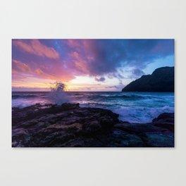 Makapu'u Beach, Hawaii Canvas Print