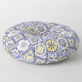 Talavera Ceramics Floor Pillow