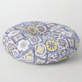 Talavera Ceramics Floor Pillow