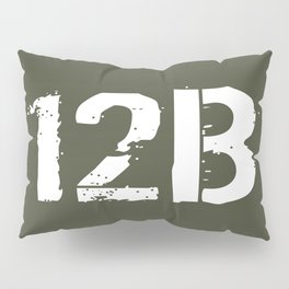 12B Combat Engineer Pillow Sham