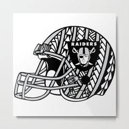 Polynesian Style Raiders Metal Print