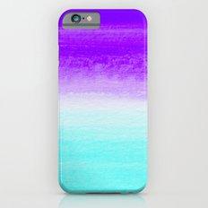 WHEN PURPLE MET BLUE iPhone 6 Slim Case