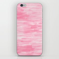 Chic Pink Watercolor Abstract iPhone & iPod Skin