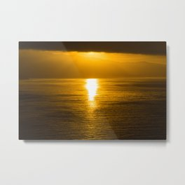 Satisfy My Soul Malibu Sunrise Metal Print