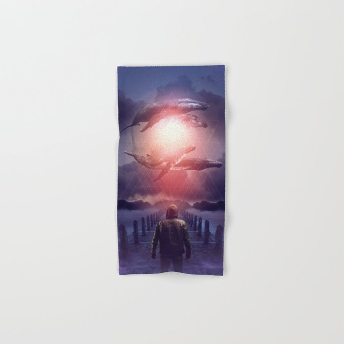The Space Between Dreams & Reality Hand & Bath Towel