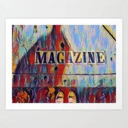 Magazine Street Art Print