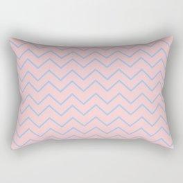 Skinny Pantone Chevron Rectangular Pillow
