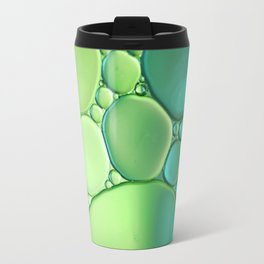 Jade Ombre Bubbles Travel Mug