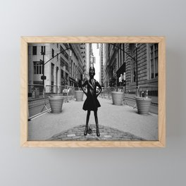 Fearless Framed Mini Art Print
