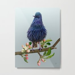 Proud Bird Metal Print