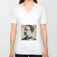 general V-neck T-shirts featuring - general - by Digital Fresto