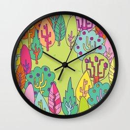 Bunny Land Wall Clock