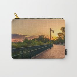 Sunset at Riverside Carry-All Pouch