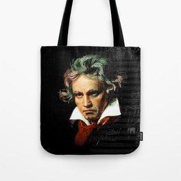 Beethoven - Music Demon Tote Bag