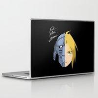 fullmetal alchemist Laptop & iPad Skins featuring Fullmetal Alchemist/RAM by 5eth