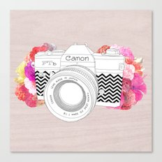 BLOOMING CAN0N Canvas Print
