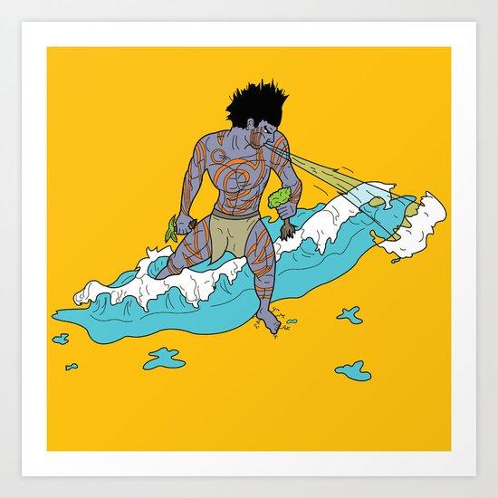 Juracán Art Print