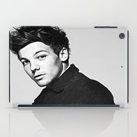 louis tomlinson iPad Cases featuring Louis Tomlinson by D77 The DigArtisT