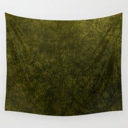 olive green velvet   texture Wall Tapestry