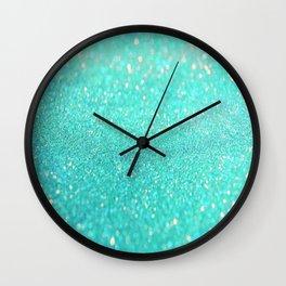 sparkle sea Wall Clock