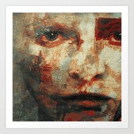 The Human Race 3 Art Print
