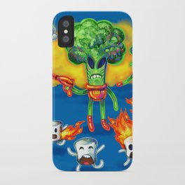 Veggie Attack iPhone Case