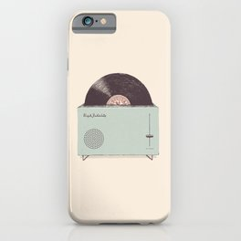 High Fidelity Toaster iPhone Case
