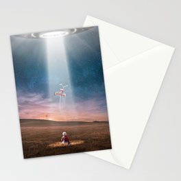 The Alien's Gift Stationery Cards