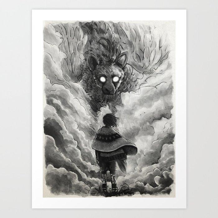 Last Guardian Art Print