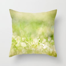 morning dew no.2 Throw Pillow