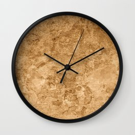 Trainstation; Vintage Old School Texture Series Wall Clock