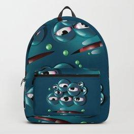 Blue Monster Backpack