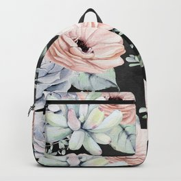 Night Succulents Backpack