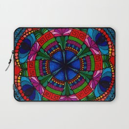 Mandala Flowers Laptop Sleeve