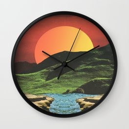 Primary Landscape Wall Clock