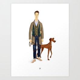 mr. Alden Art Print