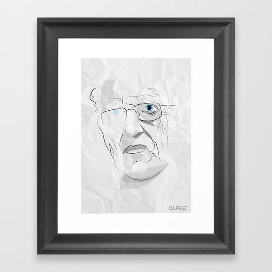 Tribute: Moebius (Jean Giraud) Framed Art Print