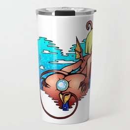 With diamond Travel Mug