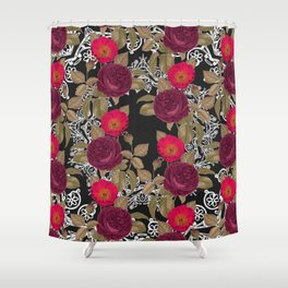 Pink Haven Shower Curtain