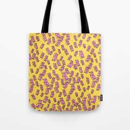 Rockwell Birds - Pink Glow Tote Bag