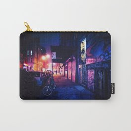 Lower East Side - Night on Rivington Street Carry-All Pouch