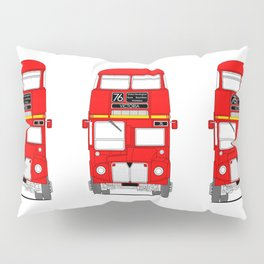 The Routemaster London Bus Pillow Sham