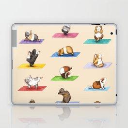 The Yoguineas - Yoga Guinea Pigs - Namast-hay! Laptop & iPad Skin