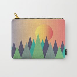 Mountains - The Sunset Carry-All Pouch