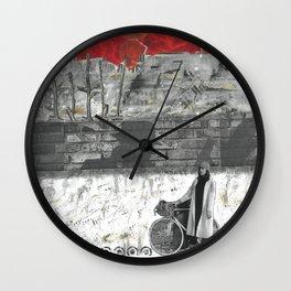 Sky Abobe the City Wall Clock